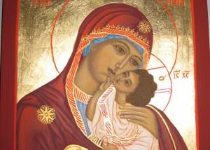 Ikone Maria mit Kind