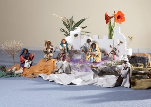 Krippe bibl Figuren